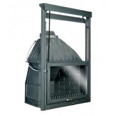 Φυλλάς ΤΕ 800 μαντεμένιο  με αεροθάλαμο μεταλλικό 2 εξόδων θερμού αέρα, με δυνατότητα παροχής βεντιλατέρ και ροοστάτη
