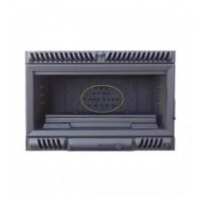 SALGUEDA  A52-E052 insert 700, ονοματική ισχύς 14kw,  με τριτογενή καύση,μετάκαυση καπναερίων με σχάρα ψησίματος