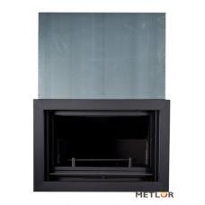 METLOR CENTRAL UP 30AC-  Με συρόμενη πόρτα με σύστημα αυτομάτου ελέγχου καύσης ονομαστική ισχύς 40KW ανοικτό δοχείο